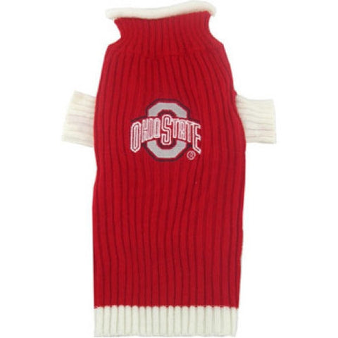 College Football - Ohio State Buckeyes Dog Sweater