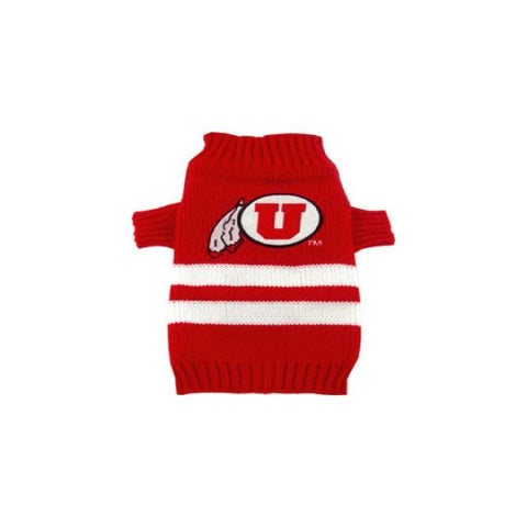 College Football - University of Utah Utes Dog Sweater