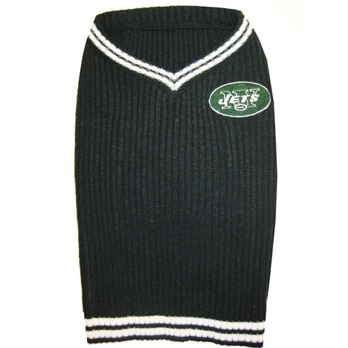 NFL - New York Jets Dog Sweater - Three Humans & A Dog Company