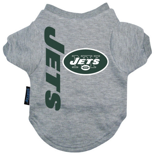 NFL - New York Jets Dog T-Shirt - Three Humans & A Dog Company