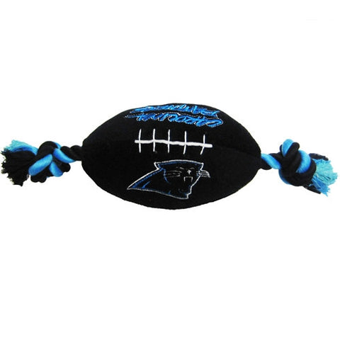 NFL - Carolina Panthers Dog Plush Football