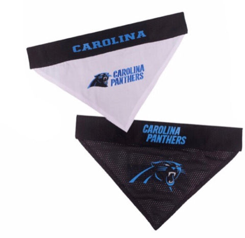 NFL - Carolina Panthers Dog Bandana - Reversible Mesh