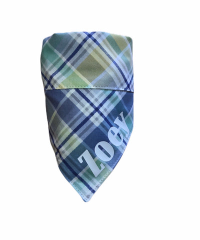 Bandana - Purple Easter Plaid