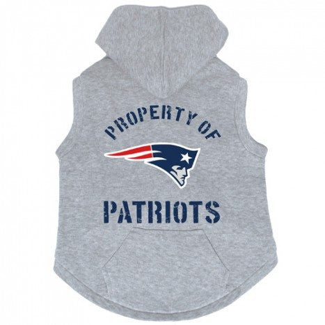 "NFL - New England Patriots ""Property Of"" Gray Hoody"