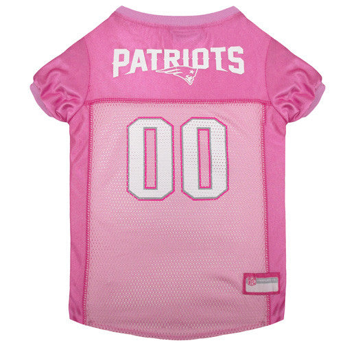NFL - New England Patriots Dog Jersey - Pink