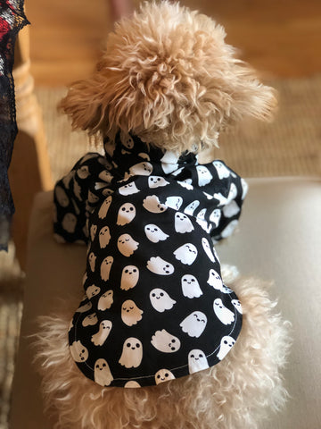 Dog Shirt - Halloween Ghosts