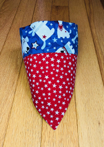 Bandana - Patriotic Doggies and Stars