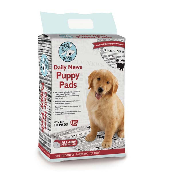 Daily News Puppy Pads - Three Humans & A Dog Company  - 1