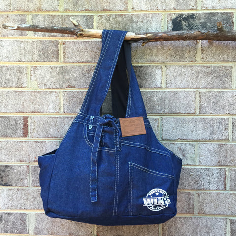 Carrier - Denim Pet Shoulder Bag