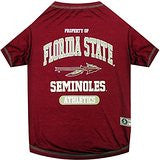 College - Florida State Seminoles  Dog T-Shirt - Three Humans & A Dog Company