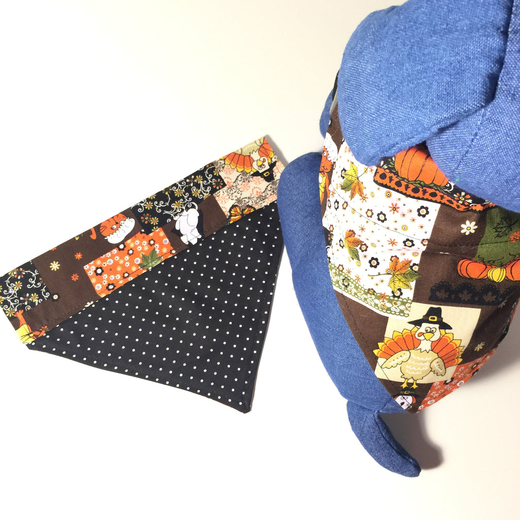 Bandana - Customizable Thanksgiving & Harvest - Three Humans & A Dog Company  - 1