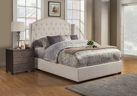 Alpine Ava Queen Tufted Upholstered Bed - Harvey & Haley  - 1