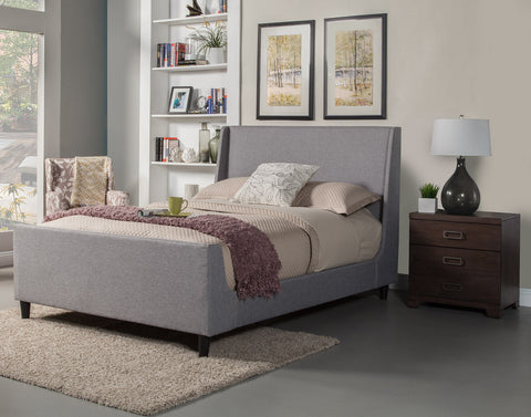 alpine amber standard king upholstered bed harvey u0026 haley 1