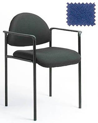 "Stackable Chair - Durable and Functional (Blue) (31.5""H x 23.5""W x 19.75""D) - Harvey & Haley"