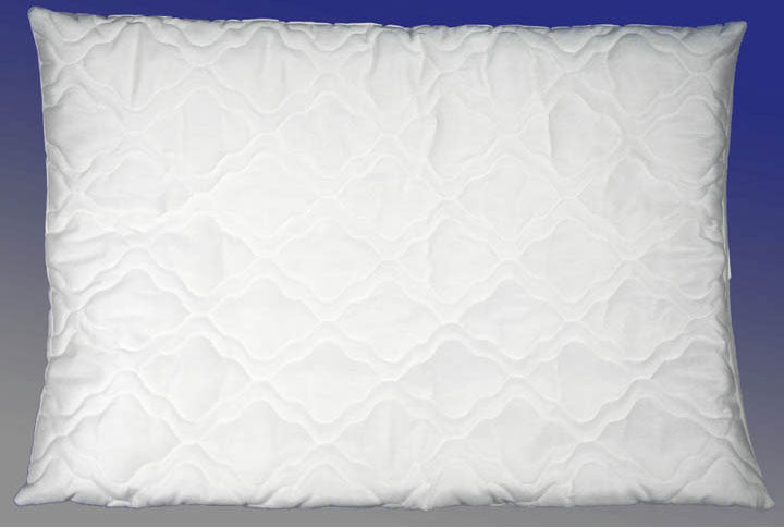 "Magnetic Therapeutic Quilted Pillow (White) (6""H x 17""W x 25""D) - Harvey & Haley"