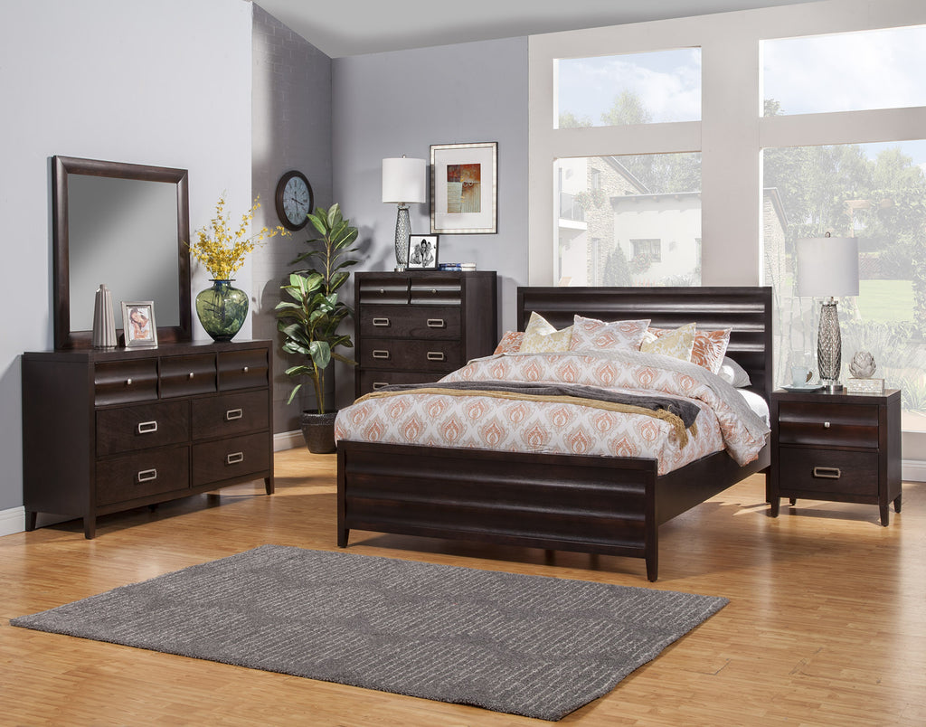 Alpine Legacy California King Panel Bed - Harvey & Haley