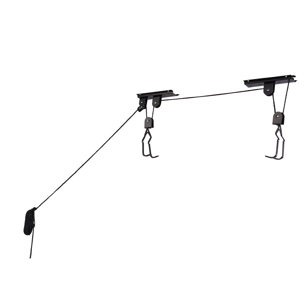 RAD Cycle Products Bike Lift Hoist Garage Mountain Bicycle Hoist 100LB Capacity - Harvey & Haley