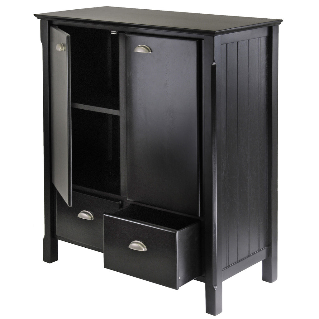 Timber Cabinet With Drawers - Harvey & Haley