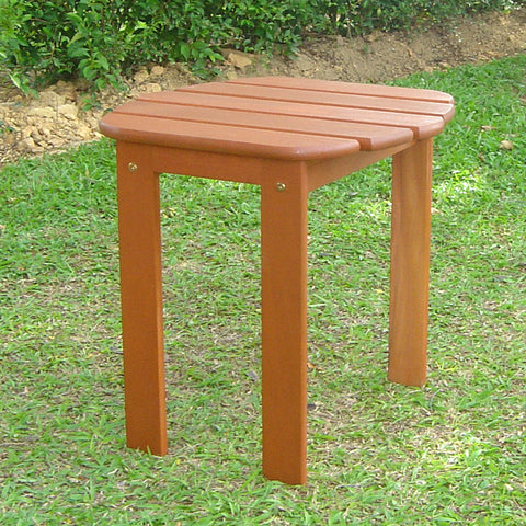 Linon Teak Adirondack End Table - Harvey & Haley  - 1