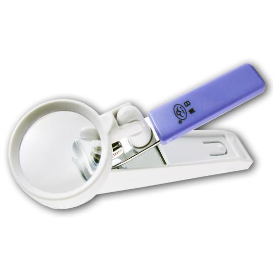 Nail Clippers with Magnifier - Harvey & Haley  - 1
