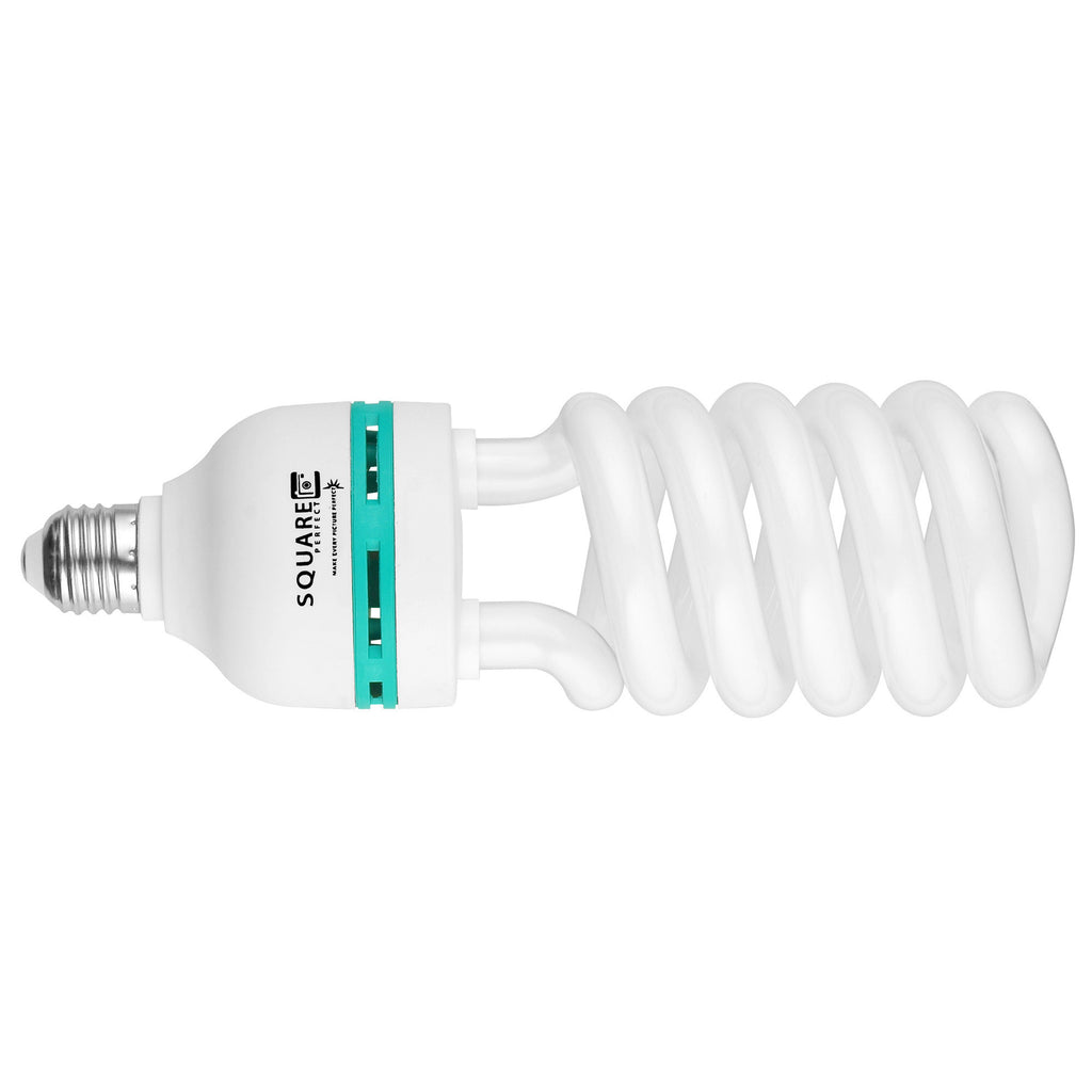 Square Perfect 65 Watt Compact Fluorescent Full Spectrum Photo Bulb Photography - Harvey & Haley