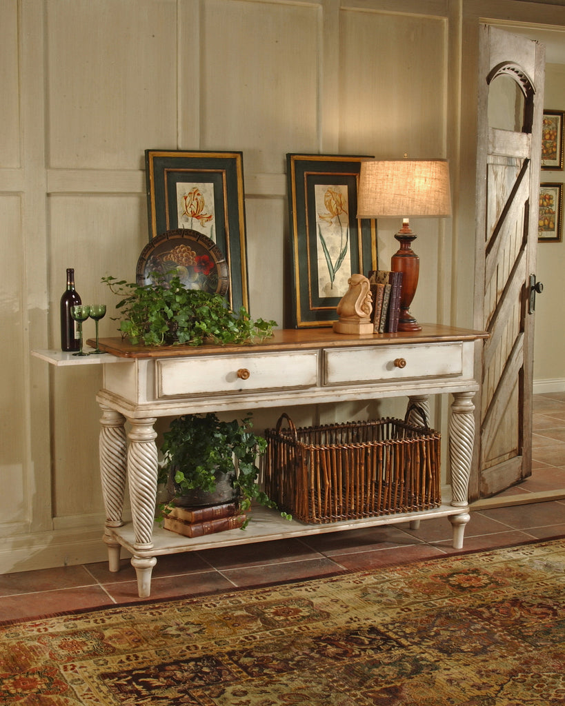 Hillsdale Wilshire Sideboard - Antique White - Harvey & Haley