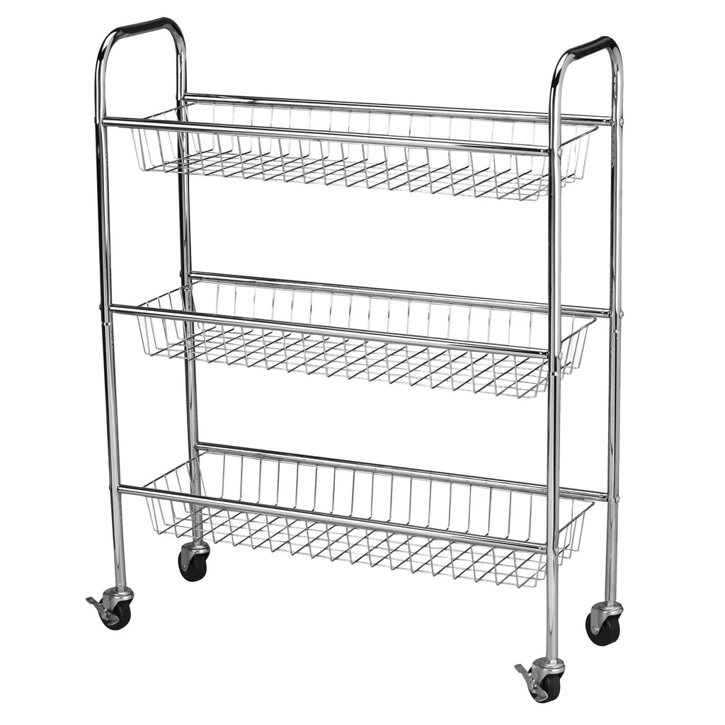 Household Essentials Utility Cart With Wheels - Harvey & Haley