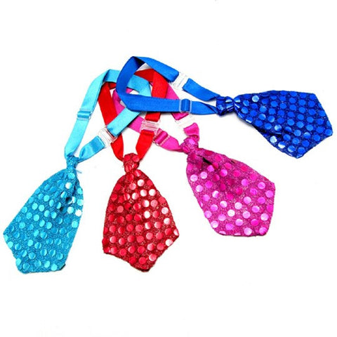 Pet Neck Tie-Color Red