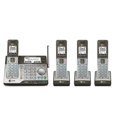 ATT 4 Handset System with Answering - Harvey & Haley