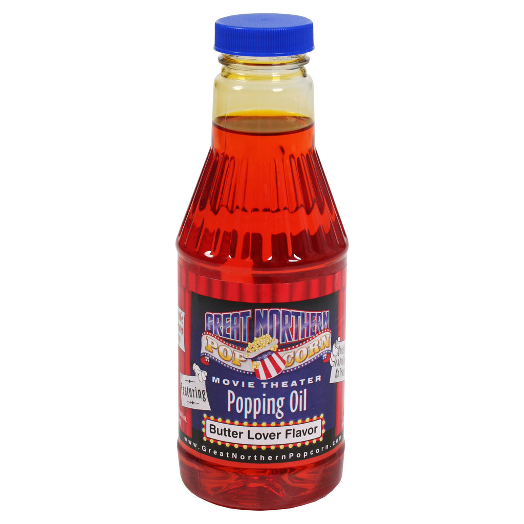 Great Northern Popcorn Premium Butter Popping Oil Pint Flavored Popcorn Oil - Harvey & Haley