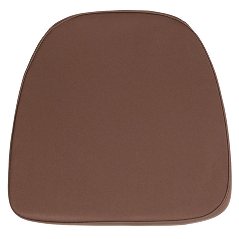 Soft Brown Fabric Chiavari Chair Cushion - Harvey & Haley