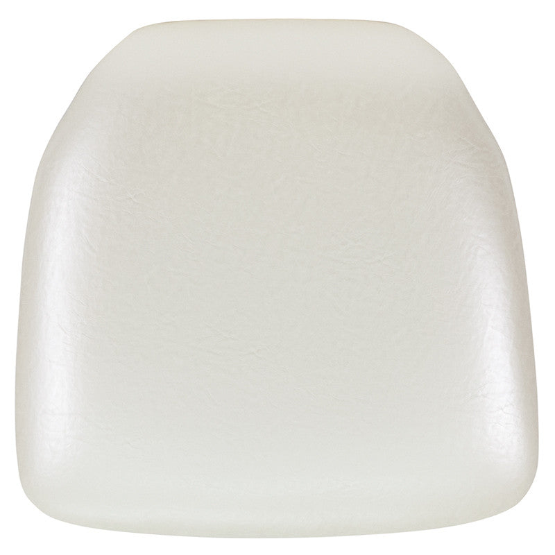 Hard Ivory Vinyl Chiavari Chair Cushion - Harvey & Haley