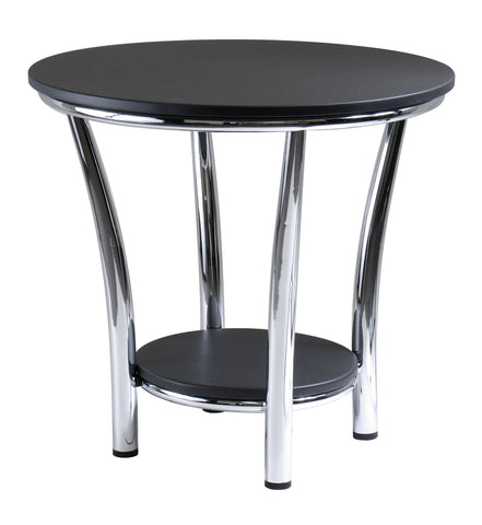 Winsome Maya End Table, BLACK - Harvey & Haley