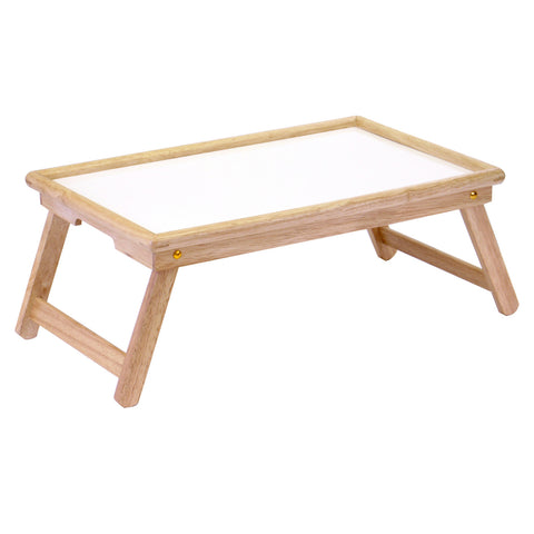Breakfast Bed Tray, With Notched Handle - Harvey & Haley
