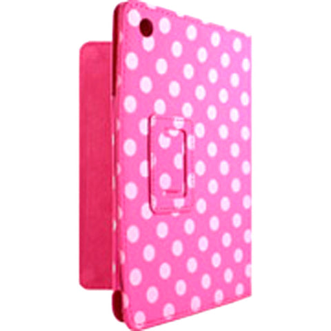 Accellorize 16143 Pink Dot iPad 2 3 and 4 Case Flips Open An - Harvey & Haley