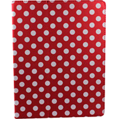 Accellorize 16149 Red Dot iPad Air Case Flips Open & Close Close - Harvey & Haley