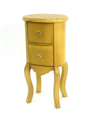 Teton Home Yellow Wooden Cabinet - Harvey & Haley