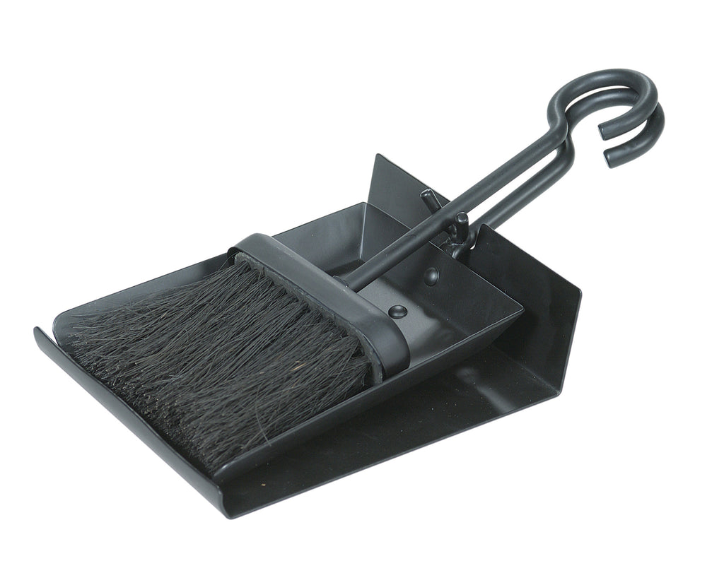 Black Shovel And Brush Set With Pan - Harvey & Haley