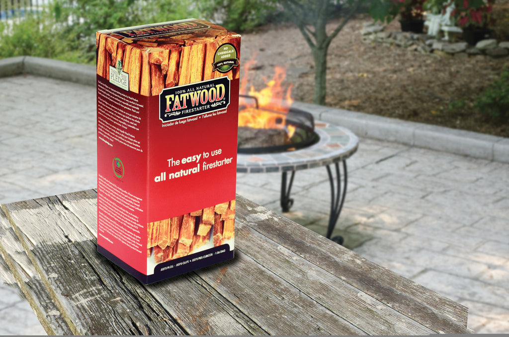 Uniflame 1.5 Pound Fatwood In Color Carton - Harvey & Haley
