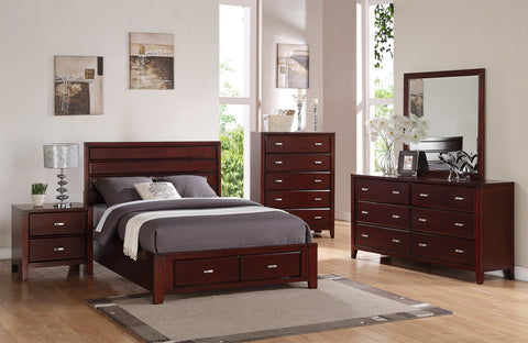 Alpine CARRINGTON 2 DRAWER NIGHTSTAND - Harvey & Haley