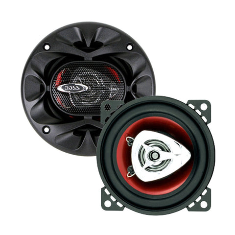 "Boss CH4220 Car Speaker 4"" 2Way Chaos Extreme Red Polycon - Harvey & Haley"