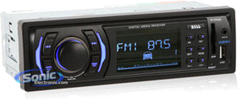 Boss 612UA CD Receiver Mp3 Compatible Solid State AM/FM USB - Harvey & Haley