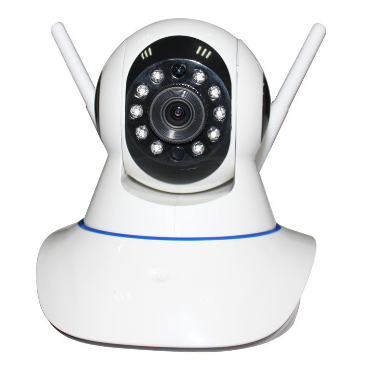 Dual antenna enhanced multi function alarm mobile phone monitoring camera wireless network camera