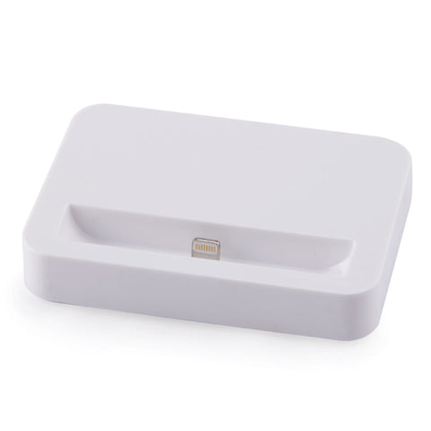 USB Data Sync Charging Dock Station For iPhone 5 5S 5C-White - Harvey & Haley  - 1