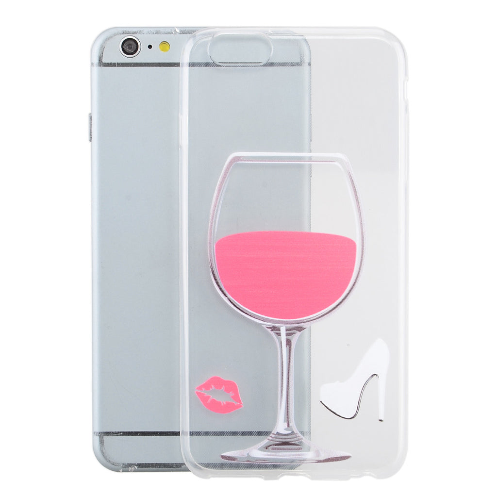 "Ultra-Thin Protective Back Case for iPhone 6 Plus 5.5 -Rose Red"" - Harvey & Haley  - 1"