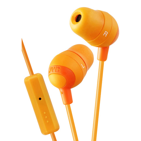 JVC Marshmallow Earphone Remote-Mic Orge