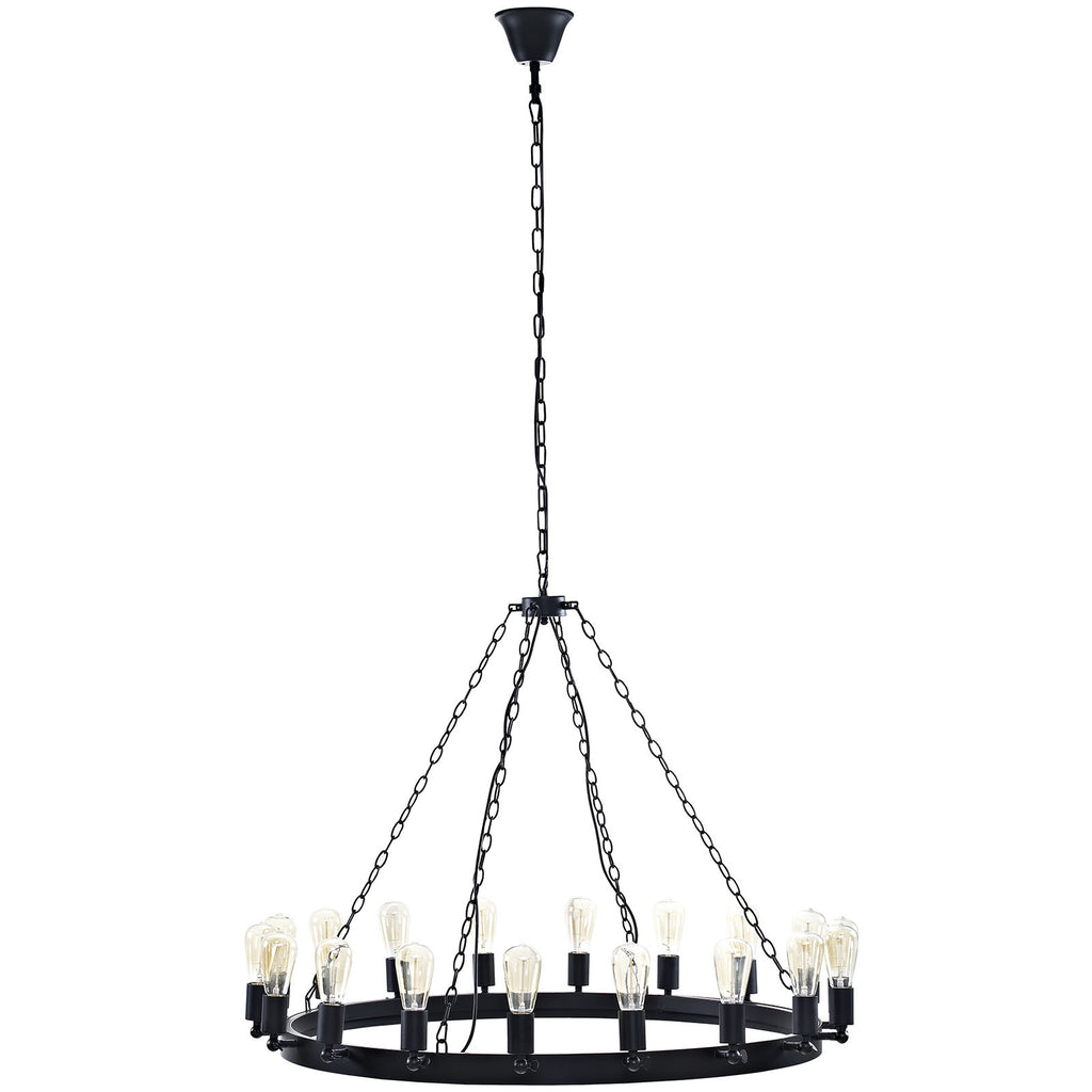 "Teleport 43"" Chandelier - Harvey & Haley"