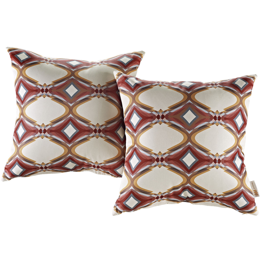 Modway Outdoor Patio Throw Pillow Set of 2 - Harvey & Haley