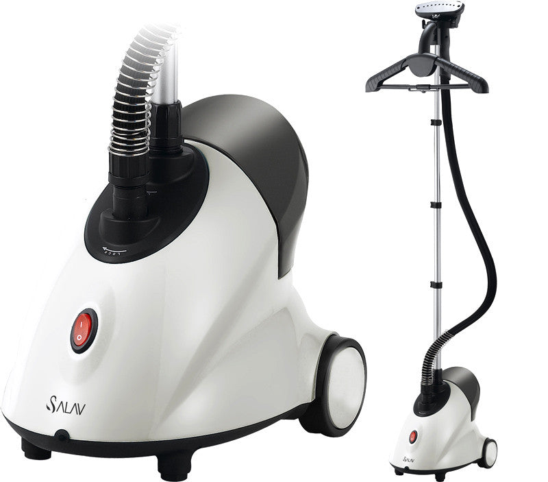 Salav Garment Steamer, Performance Series, 1500W, White - Harvey & Haley  - 1