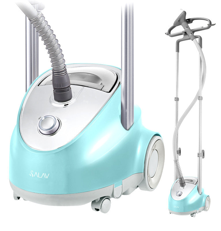 Salav Garment Steamer, Professional Series, 1500W, Blue - Harvey & Haley  - 1
